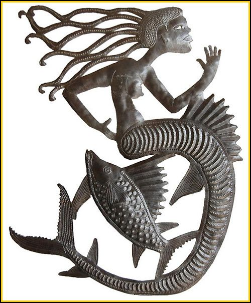 19 best Mermaids - Haitian Steel Drum Metal Art - Island ...
