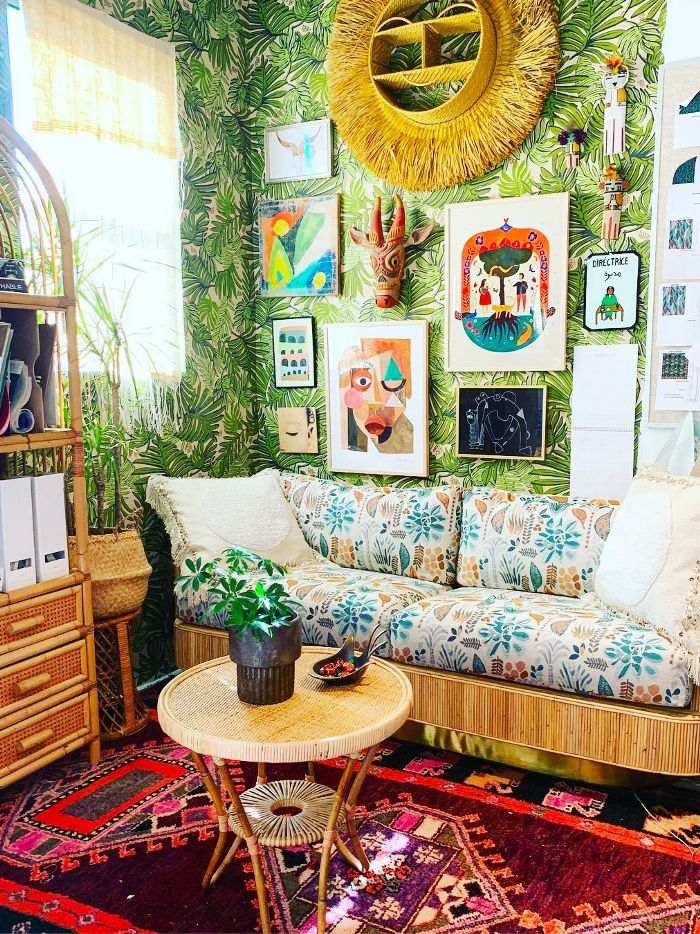 How To Master The Globally Inspired Boho Chic Look At Home Decor Bohemian Decor Chic Home Decor