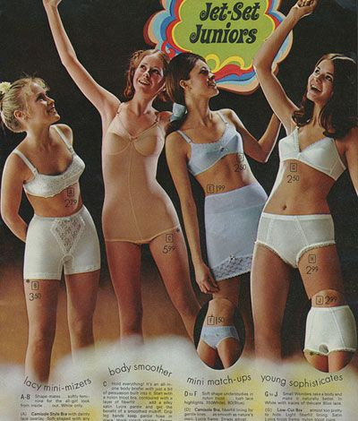 Vintage Sears Catalog Training Bra Jc Penney S Sears