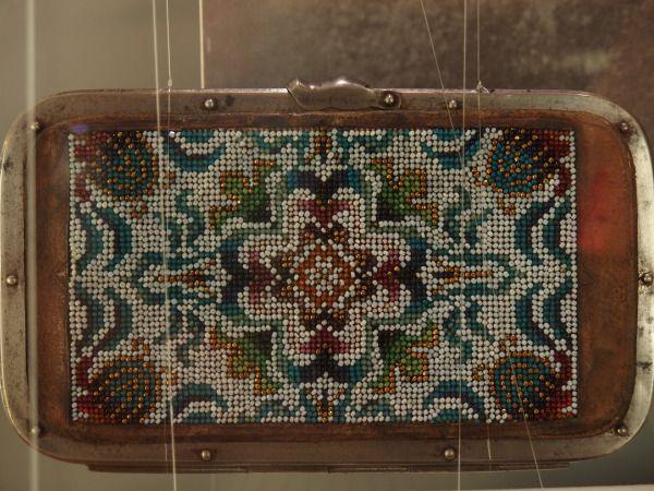 glass beads, czech design - photo from travel blog post Czech Menu