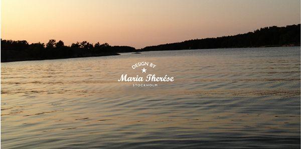 Maria Therése Design Logo & Identity on Behance