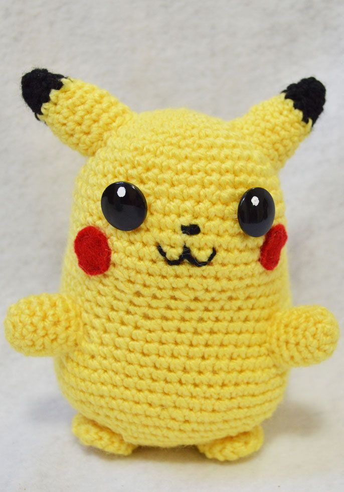 Amigurumi Pikachu Patron : 318 Best images about Crochet: Amigurumi on Pinterest ...