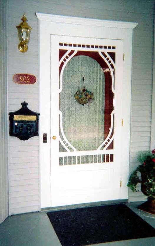 Victorian Screen \u0026 Storm Door | Hammond Model | . & 221 best Screen \u0026 Storm Doors images on Pinterest | Storm doors ...