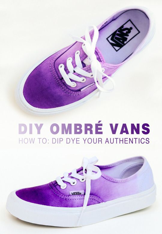ombre sneakers