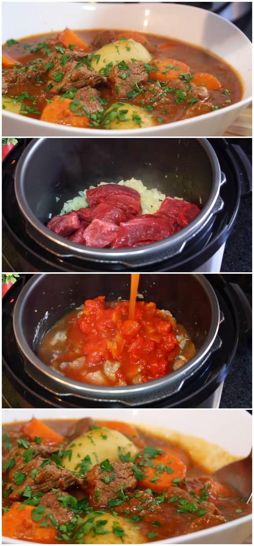 Carne De Panela Com Legumes Receita Perfeita Com Imagens