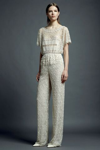 Valentino jumpsuit for her.: Lace, Valentinoresort, Fashion, Style, Resorts, Wedding, 2013 Collection