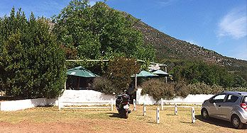 Cape Town 's Darling farmhouse restaurant