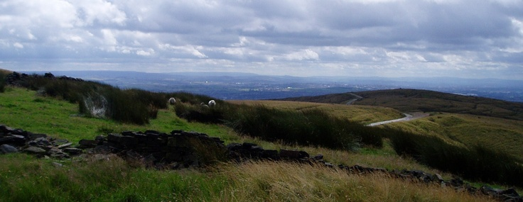Rooley Moor Road and Rochdale