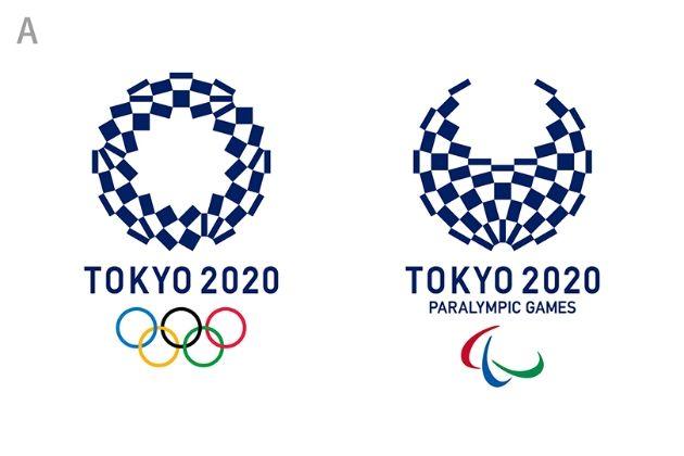写真ニュース(1/1): 東京五輪エンブレムが「組市松紋」に決定 藍色の市松模様で粋な日本らしさを表現 - BIGLOBEニュース