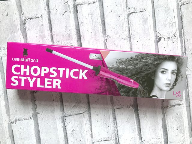 The Lee Stafford Chopstick Styler, a full review and demo, plus before and after photographs using the Lee Stafford Chopstick Styler