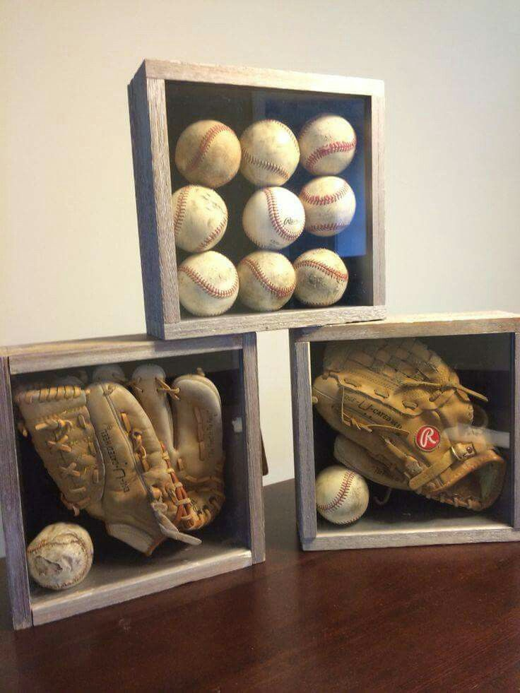 Baseball shadow boxes
