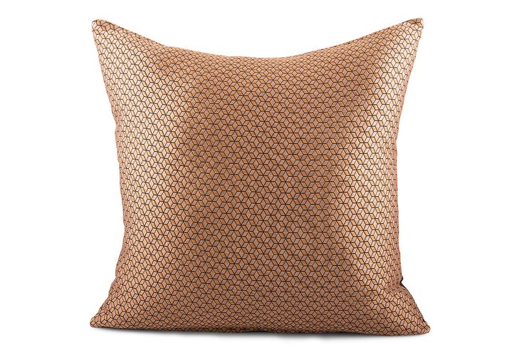 Jacquard Cube Weave Polyester Cushion Cover by Suraaj Linens