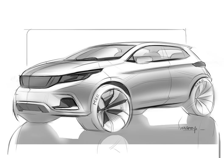 73 best Suv rendering proportions images on Pinterest ...