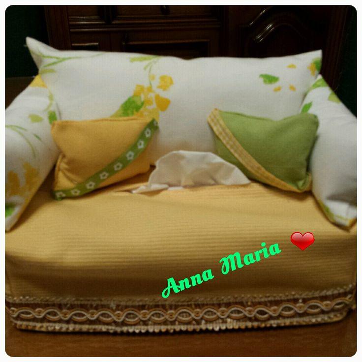 Il divanetto porta fazzoletti