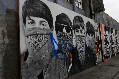 Beatles street art