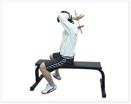 腕(上腕二頭筋・裏側)|ダンベルトレーニング&ダイエットガイド|ファイティングロード