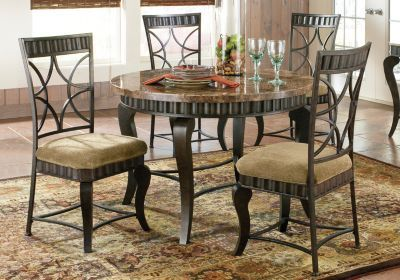 Spring valley 5 pc dining room dining room pinterest for Affordable furniture alexandria louisiana