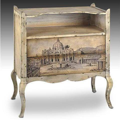 17 mejores ideas sobre mesas pintadas en pinterest for Muebles de bano estilo vintage