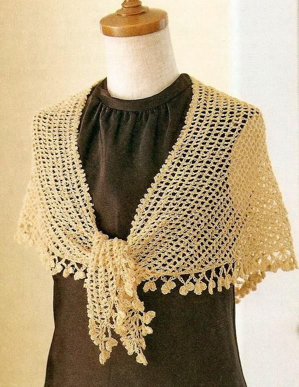 Crochet Shawl Simple And Beautiful Women S Shawl So