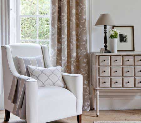 Clarke & Clarke Ribble Valley collection, perfect for the natural feeling home! #natural