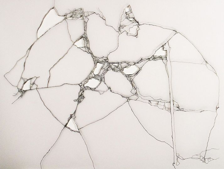 Leyla Cardenas ink on paper.....via brigittew