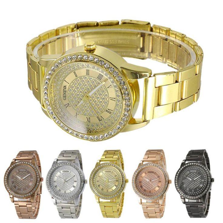 Прочный 2016 мода часы мужчины Роскошные Нержавеющей Стали Спортивные Кварцевые Часы Наручные Аналоговые Часы Подарки #jewelry, #women, #men, #hats, #watches