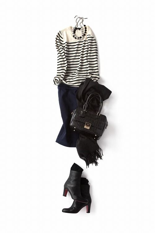 今年のタイトスカートはラフに、<br>キュートに着こなしたい!2013-11-06 | skirt price :12,600 brand : MacPhee http://www.daliaonline.com/
