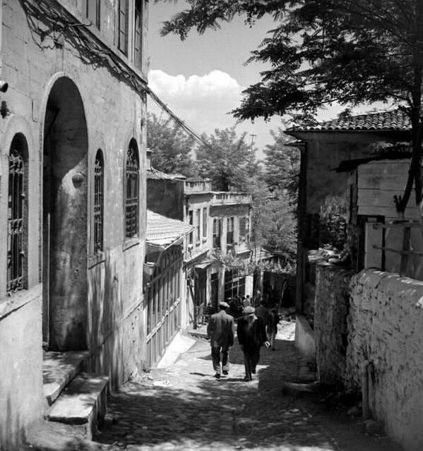 Alageyik sokak - Karaköy 1950 ler