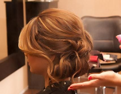 Andrea wedding hairHair Colors, Buckets Lists, Wedding Hair, Shorts Hair, Prom Hairstyles, Braids, Hair Style, Updo, Promhair