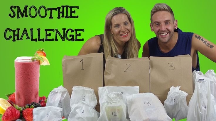 Smoothie Challenge - The ChrisO & Sammy show (S03E06)