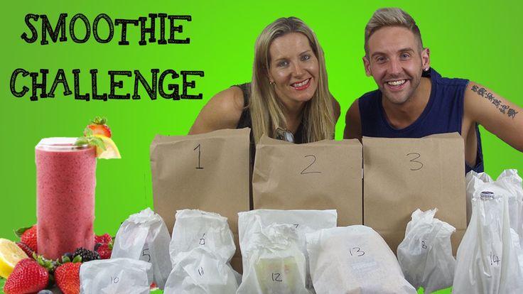 Smoothie Challenge - The ChrisO & Sammy show (S03E06)