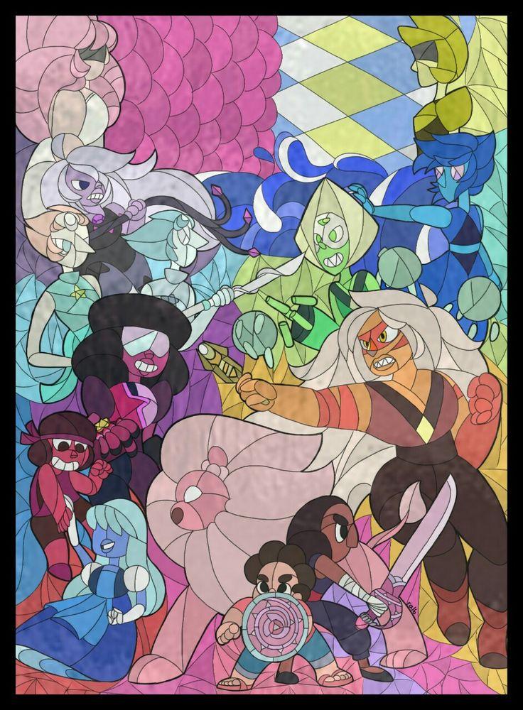 Steven Universe - Poster De Vidrio...