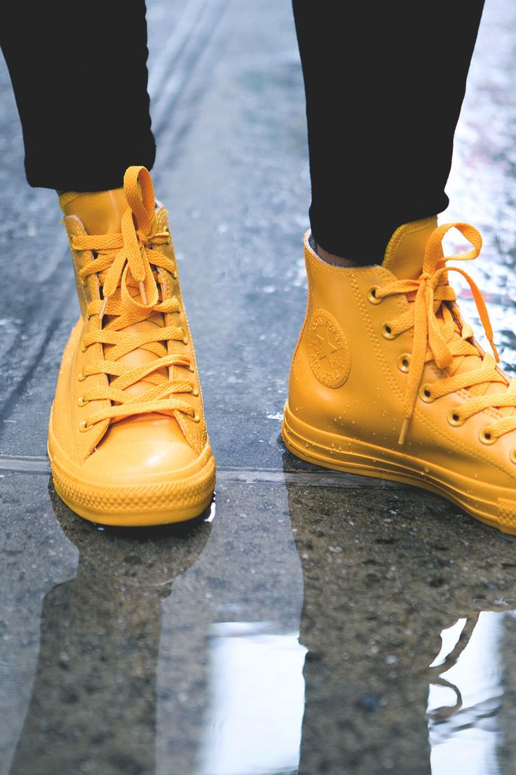 CONVERSE Chuck Taylor All-Star 'Rubber' in Yellow