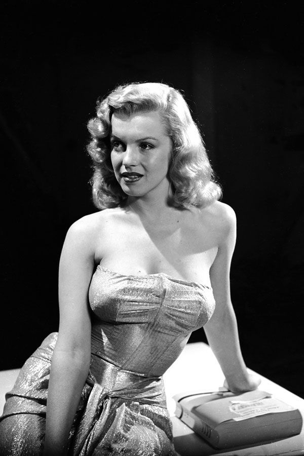 Photos of Monroe looking glamorous are legend. This is an early one, when she was still just a supporting player