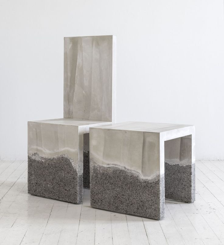 48 best concrete images on pinterest cement concrete for Modern furniture nyc