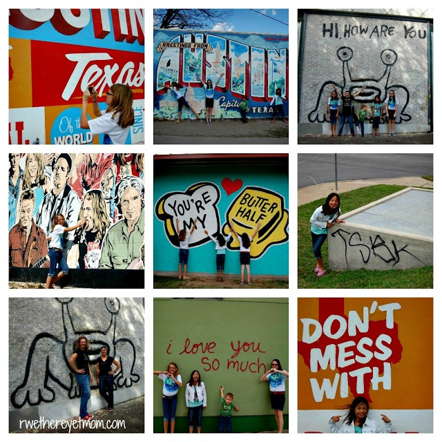 Austin Murals - fun places to take pics.
