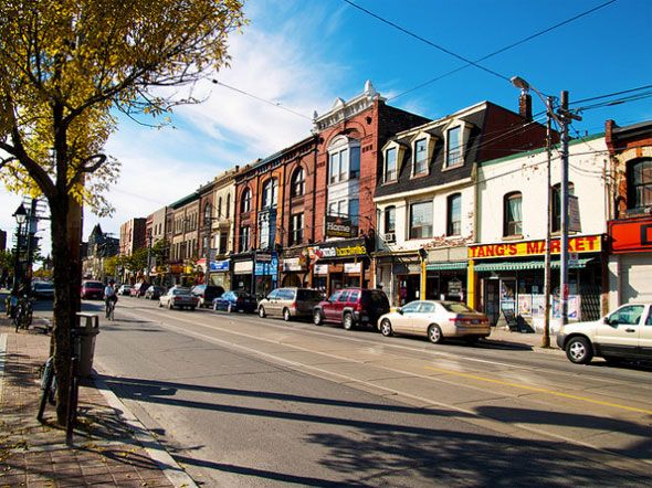 10 quirky things you might not know about Parkdale: Like many neighbourhoods to the west, north, and east of downtown Toronto, Parkdale was once an independent village. The small community grew up west of the rail tracks, south of Brockton before it was annexed by the City of Toronto in 1889.