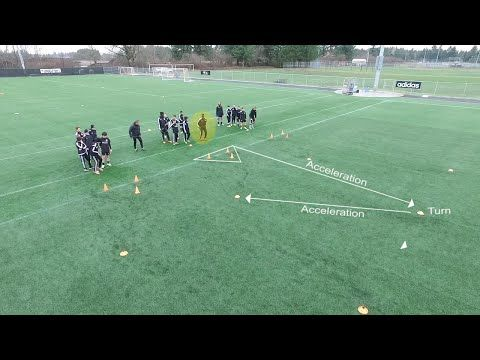 Dynamic Soccer Warm Up - YouTube