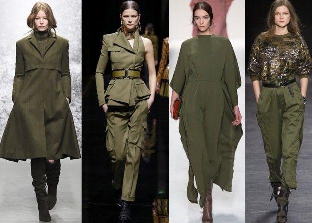 Tendenze moda donna autunno 2015: sull'attenti con il look militare