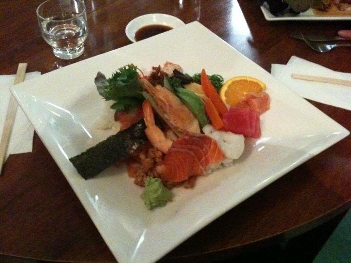 Chiriashi Sushi from the Kawasemi Japanese Tea House in Moonah