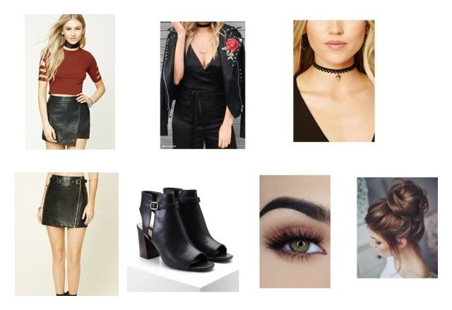 """Untitled #81"" by rosiepotter on Polyvore featuring Forever 21"