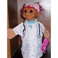 Image detail for -Amazon.com: Nurse Troll Doll Puppet Russ Berrie: Toys & Games