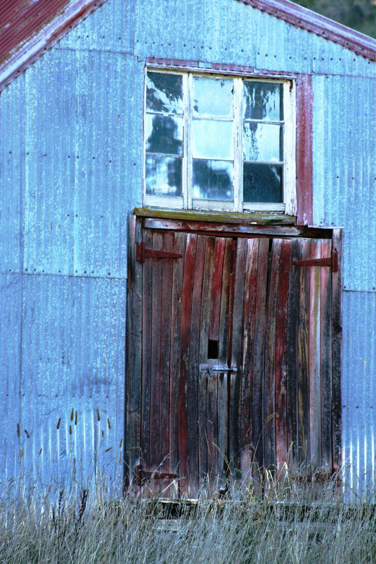 Old wool shed door. New Zealand. www.cosytoes.co.nz