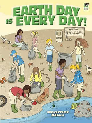 """Join Team Recycle for an odyssey through word searches, mazes, cryptograms, and other puzzles that provide fun facts about Earth Day and offer ideas for making """"green"""" practices part of everyday life. Solutions."""