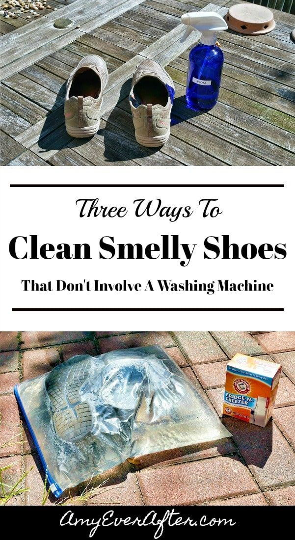 Three Ways To Clean Smelly Shoes That Don T Involve A Washing