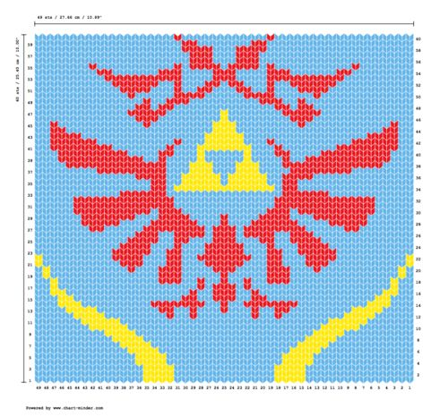 Baby Zelda Knitting Pattern : Hyrule warriors scarf knitting pattern! Knitting ...