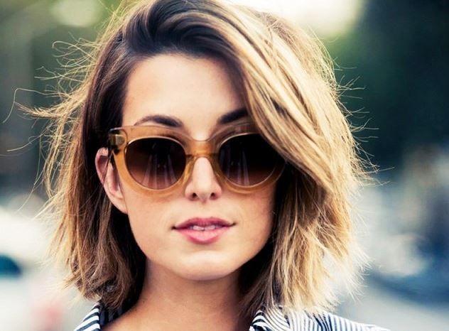 kalın telli saçlar için kısa saç kesimleri 2016