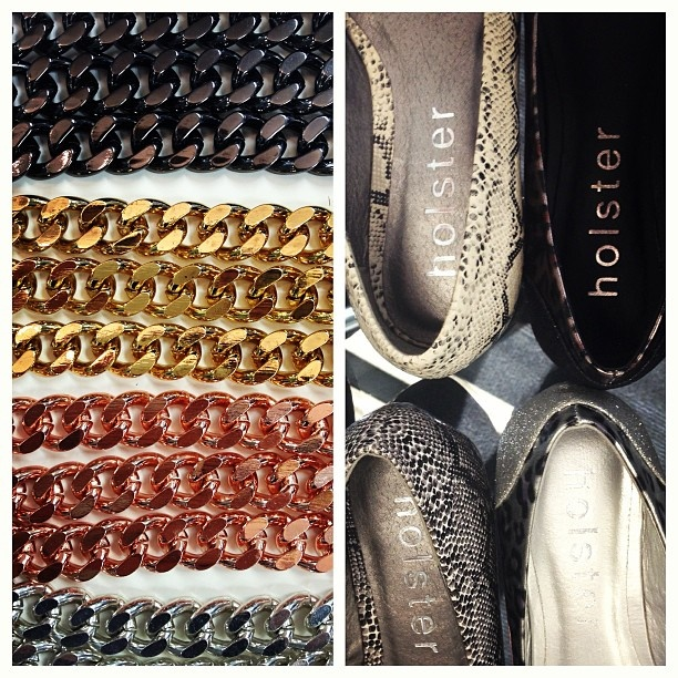 Holster Fashion Shoes and Lotus Mendes Chains