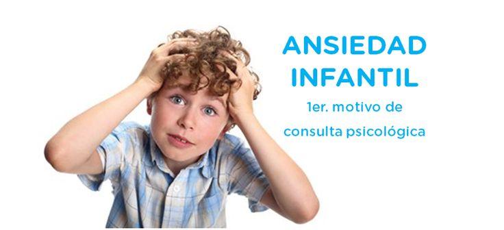 Ansiedad Infantil, 1er. motivo de consulta psicológica. ¿Sabías que la ansiedad infantil es el motivo más frecuente por el que los niños asisten al psicólogo?  ¿Deseas aprender cómo manejarla?  Hoy te aconsejaremos como manejar la ansiedad en tus niños …