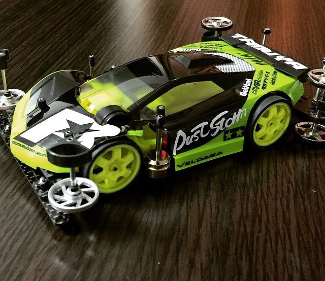 Dust Storm Veldaga inspiring design #TAMIYA #TAMIYA_Indonesia #mini4wd #JKT4WD #tweet_project